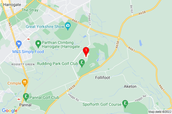 Rudding Park, Follifoot, Harrogate, North Yorkshire, United Kingdom, HG3 1JH,UK