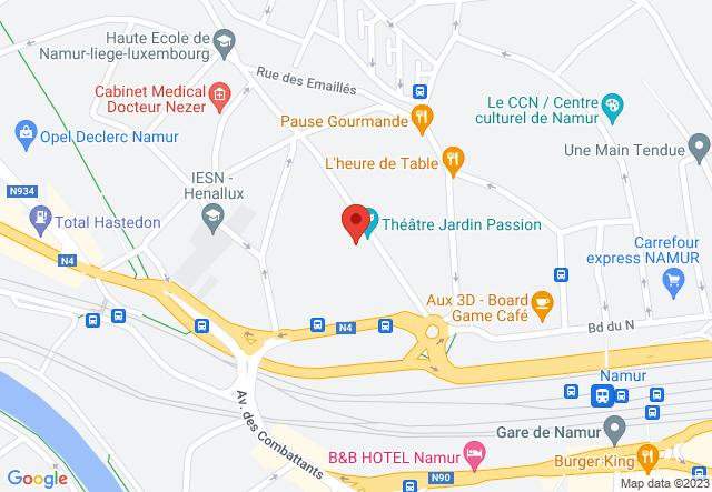 Map: Théâtre Jardin Passion