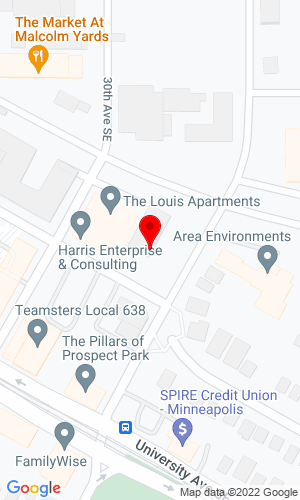 Google Map of Ruffridge-Johnson Equipment Co, Inc. 3024 4th Street SE, Minneapolis, MN, 55414,