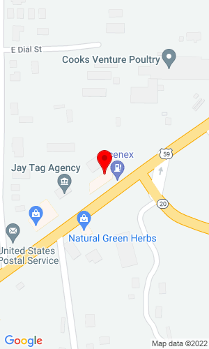 Google Map of S & H Farm Supply 7 Route A, Lockwood, MO, 65682