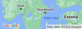 Södermanland map