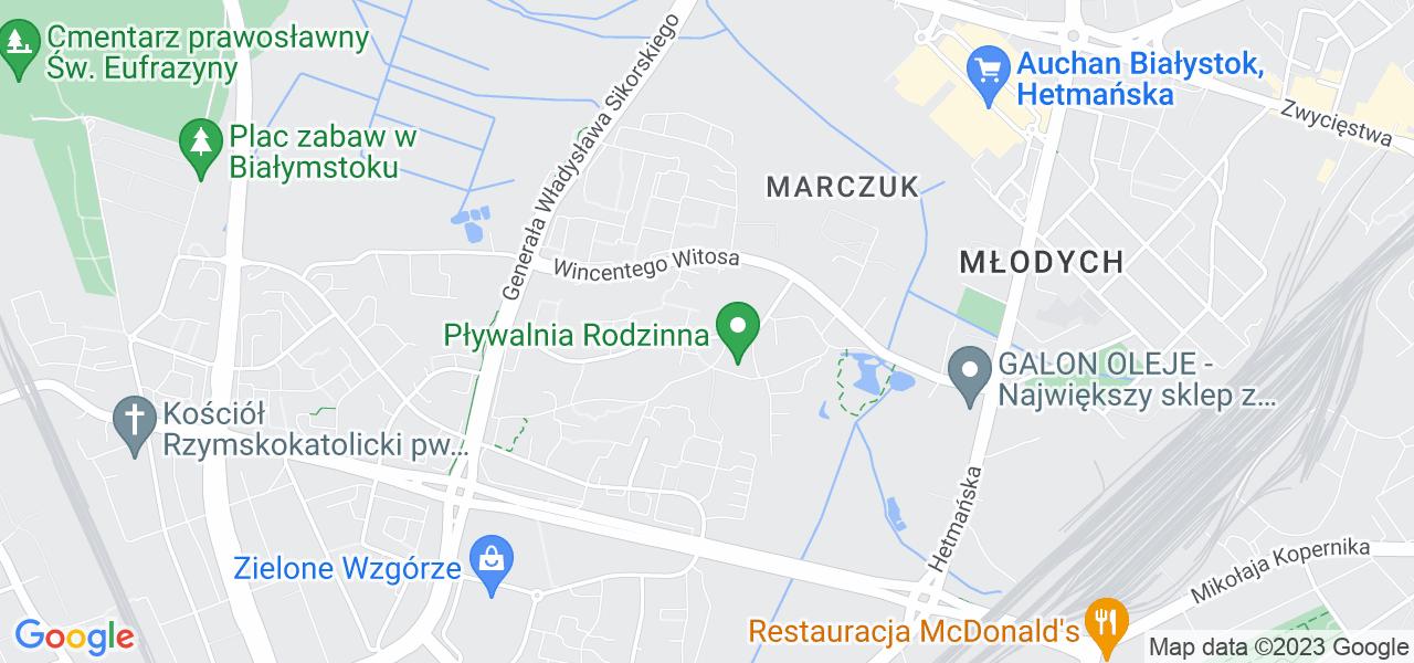 Osiedle Słoneczny Stok w Białymstoku – w tych punktach ekspresowo wyślesz turbinę do autoryzowanego serwisu