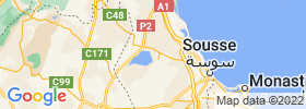 Sousse map