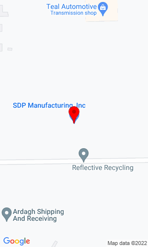 Google Map of S.D.P. Manufacturing Inc. 400 Industrial Drive, Dunkirk, IN, 47336