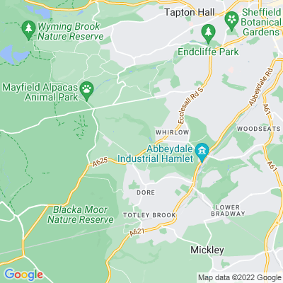 Whinfell Quarry Garden Location