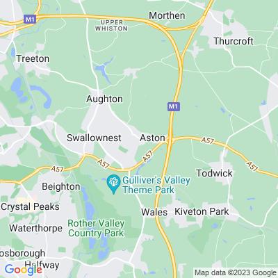 Aston Hall Location