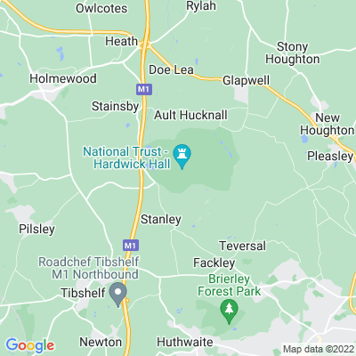 Hardwick Hall Location