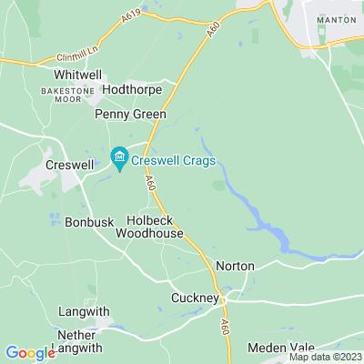 Welbeck Abbey Location