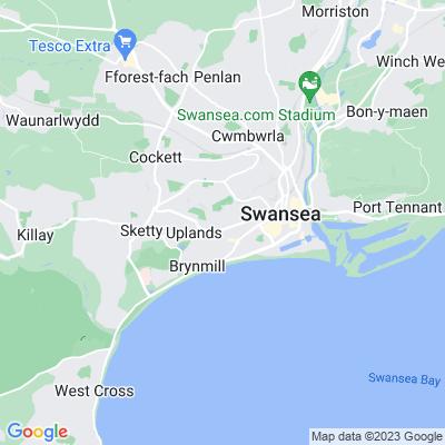 St James' Garden & Crescent Location