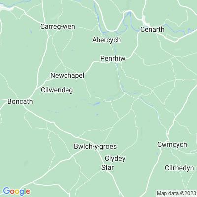 Ffynone Location