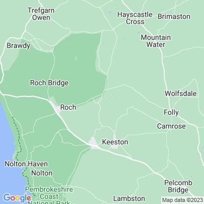 Cuffern Manor Location