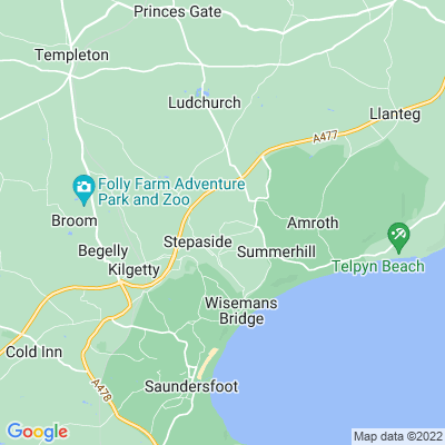 Merrixton House Farm Location