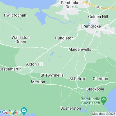 Orielton Location