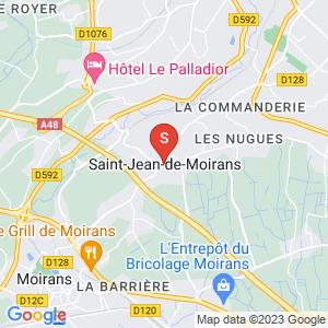 Carte Serrurier Saint-Jean-de-Moirans