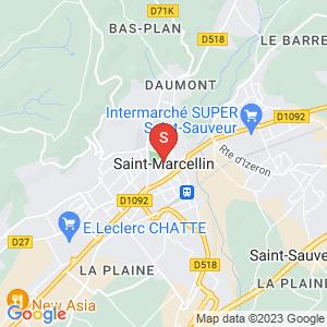 Carte Serrurier Saint-Marcellin