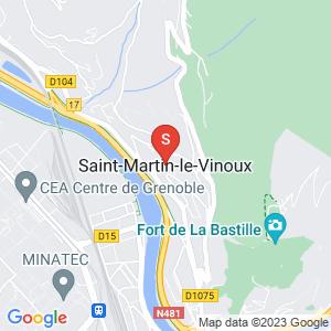 Carte Serrurier Saint-Martin-le-Vinoux
