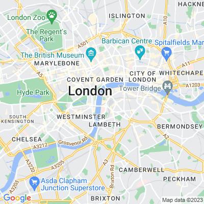 Queen's Walk, The, Lambeth Location
