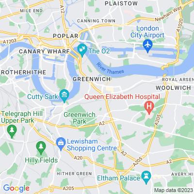 East Greenwich Pleasaunce Location