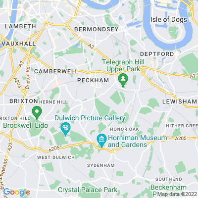 Peckham Rye Common Location