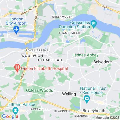 St Nicholas Gardens, Greenwich Location