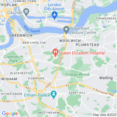 Woolwich Common and Royal Artillery Barracks Location