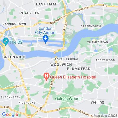 Royal Arsenal Gardens Location