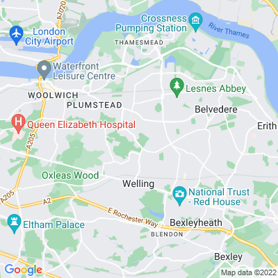 Plumstead Cemetery Location