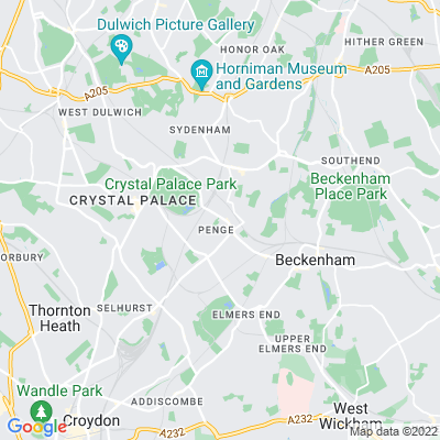 Penge Recreation Ground Location