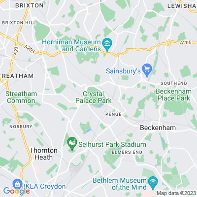 Crystal Palace Park Location