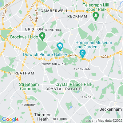 Dulwich Old Burial Ground Location