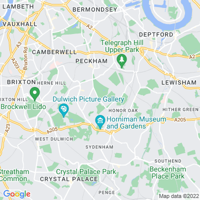 Camberwell Old Cemetery Location