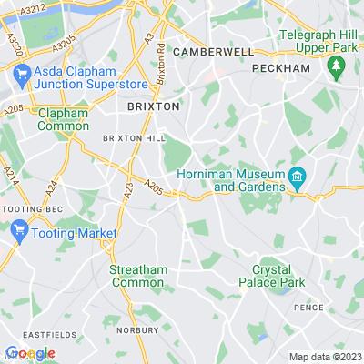 South London Botanical Institute Garden Location