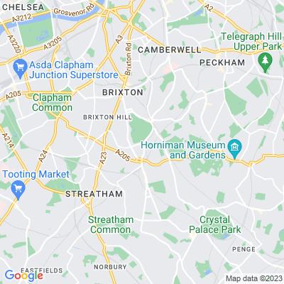 Brockwell Park, Brixton Location
