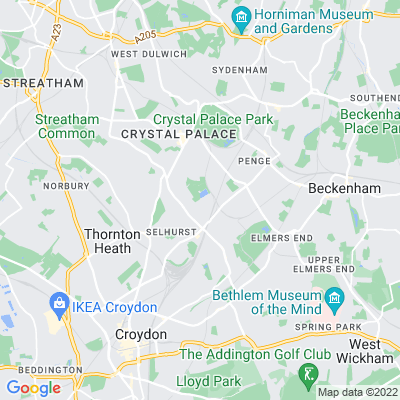 South Norwood Lake and Grounds Location