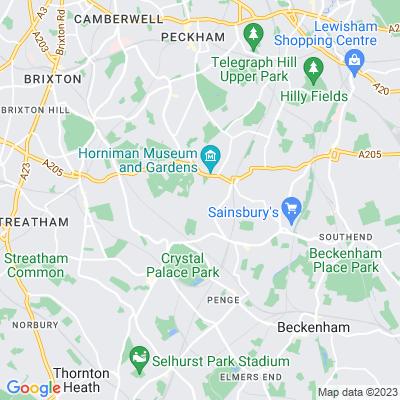 Sydenham Hill Wood Location