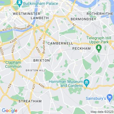 Ruskin Park, Camberwell Location