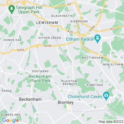 Hither Green Cemetery and Hither Green Crematorium Location