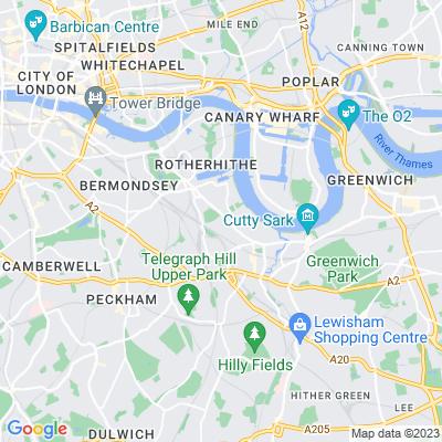 Folkestone Gardens Location