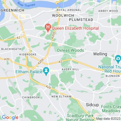 Eltham Park South Location