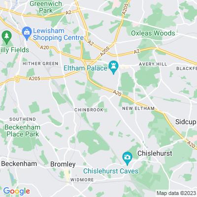 Mottingham Sports Ground Location