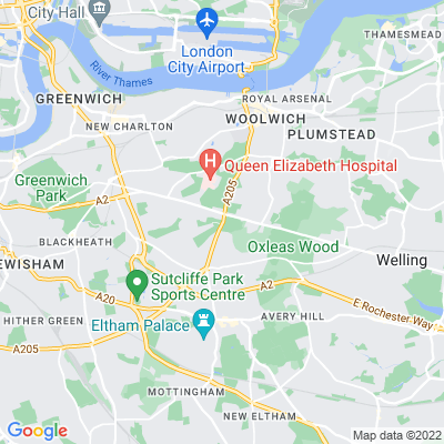 Greenwich Cemetery Location