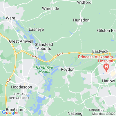 Stanstead Bury Location