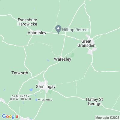 Waresley Park Location