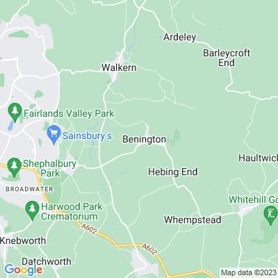 Benington Lordship Location