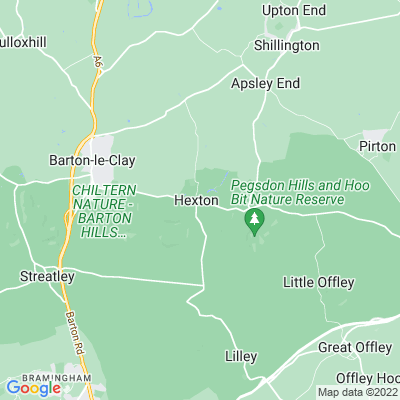Hexton Manor Location