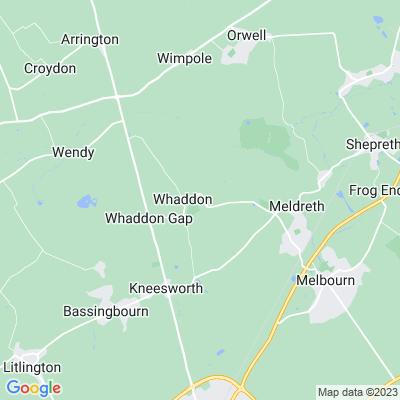 Rectory Farm, Whaddon Location
