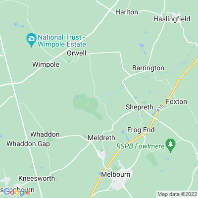 Malton Farm, Orwell Location