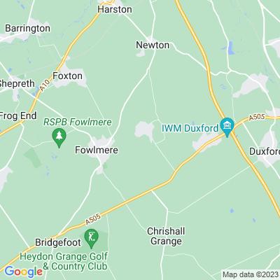 Thriplow Bury Location
