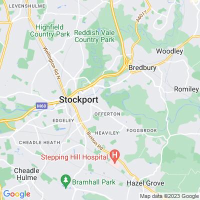 Vernon Park, Stockport Location