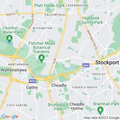Parrs Wood Location